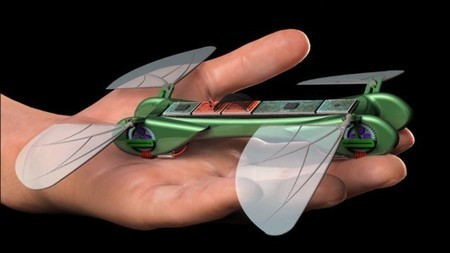 TechJect's Dragonfly micro UAV flies like a bird and hovers like an insect | Robots and Robotics | Scoop.it