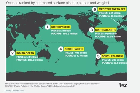 Plastic pollution: which two oceans contain the most? | Marine Litter, Trash | Muell im Meer | Scoop.it