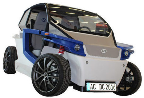 Stratasys to Display 3D Printed StreetScooter C16 Electric Car at EuroMold 2014   Invest in 3D Printing   Scoop.it