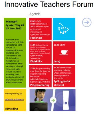 Ny samling i Innovative Teachers Forum – denne gang spill pådagsorden | Skolebibliotek | Scoop.it