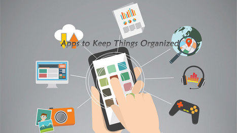Teachers Have A Lot to Do: Key Apps to Keep Things Organized | EdTechReview | Scoop.it