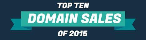 Top Selling Domain Names of 2015 | Blogging | Scoop.it