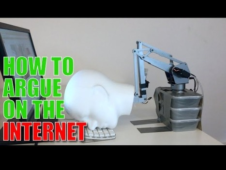 Inventor made a robot to write the perfect Internet comments | Create, Innovate & Evaluate in Higher Education | Scoop.it