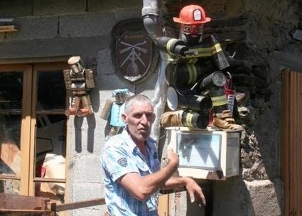 Art modeste. Yves Barthélémy met ses sculptures en boîtes | L'info tourisme en Aveyron | Scoop.it