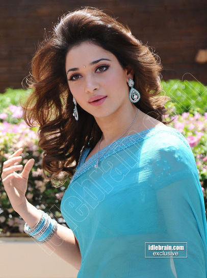 Tamanna Bhatia Latest Hot & Spicy Stills In a Transparent Blue Saree.. | Hollywood Bollywood Celebrities | Shahin Ullah | Scoop.it
