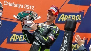 Dovizioso storms to first Yamaha podium in Catalunya   MotoGP World   Scoop.it