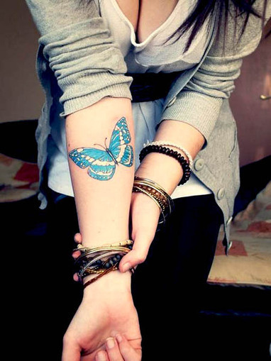 22 Awesome Butterfly Tattoos For Women | Butterfly Tattoo Art. | Yankee Bloggers  - Tattoo Ideas, Home Decor, Funny Memes | Scoop.it