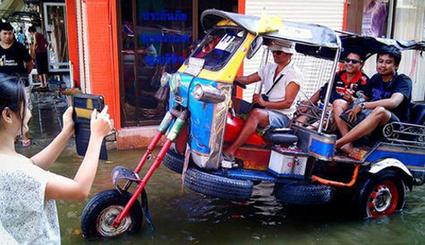 Xe chống lụt độc đáo chỉ có ở Thái Lan | Share các Scoop Yêu thích | Scoop.it