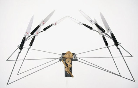 Rebecca Horn | Art Installations, Sculpture, Contemporary Art | Scoop.it