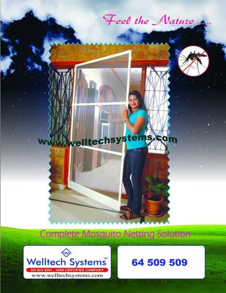 Mosquito mesh Doors - Hyderabad | Mosquito Screens Hyderabad | Scoop.it