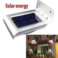 LED Solar Power Lamp Outdoor Yard Garden Path Wall Light Lighting Sound Sensor ❤ | Environmental Sensors | Scoop.it