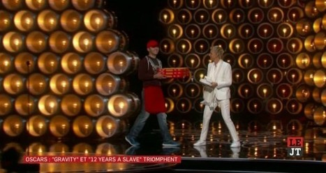 Oscars 2014 : le livreur de pizzas a touché 1000 dollars de pourboire | CRAKKS | Scoop.it
