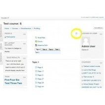 Moodle plugins directory: Fullscreen toggle button | elearning stuff | Scoop.it