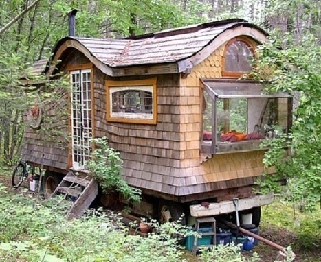 How to Build a Gypsy Caravan from Recycled Materials | Organic Pathos | Scoop.it