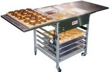 Donuts, Donut Finishing, Belshaw DFC Finishing Table | Commercial Equipment | Scoop.it
