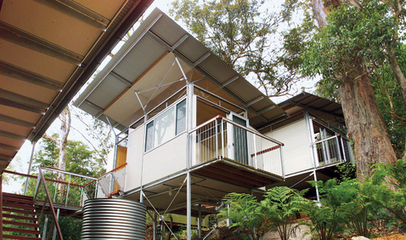 Outback Staked House - Homes - Dwell | The Architecture of the City | Scoop.it