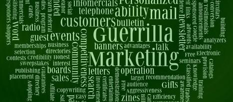 Tres tips para el Marketing de Guerrilla - Roastbrief | Para emprender | Scoop.it