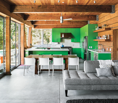 Slideshow: A Sustainably Built Weekend Home | Dwell | Aesthetics & Space | Scoop.it