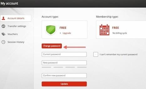 Mega – Il est possible de changer de mot de passe | Geeks | Scoop.it