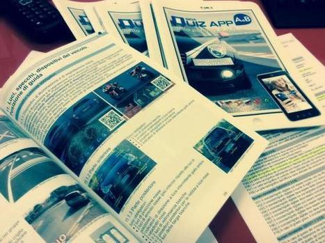 Autoscuola Gateano: il materiale didattico per le scuole guida con codici QR | QRCODE_ITALY | Scoop.it