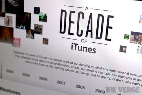 iTunes turns 10. What's in store for the next decade? | Music business | Scoop.it