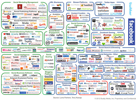 This INSANE Graphic Shows How Ludicrously Complicated Social Media Marketing Is Now | e-BUZZERS | Scoop.it