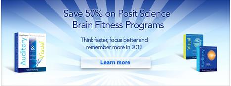 Brain Training Software, Brain Fitness, Brain Games - Posit Science | Cognitive Enhancement Technologies | Scoop.it