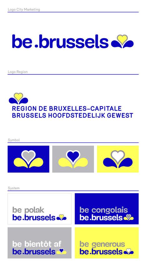 Brussel heeft nieuw logo en domeinnaam | Huisstijl | Scoop.it