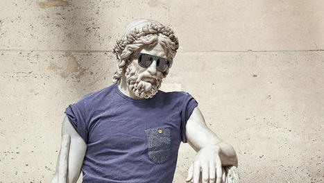 Behold, Classical Greek Statues Dressed Up Like Hipsters | io art | Scoop.it