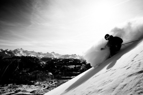 Extreme snow photography | Freeride skiing | Scoop.it