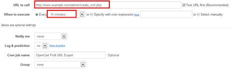 How to set up cron job for OpenCart Profi XML Export   OpenCart Development Design and Modules   Scoop.it