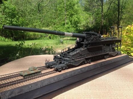 Post 1/144 Dora Railgun | Military Miniatures H.Q. | Scoop.it