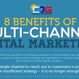 8 Benefits of Multi-Channel Digital Marketing [Infographic] | Digital Marketing Kenya | Scoop.it