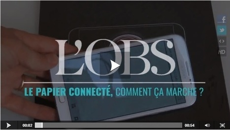 Et si le numérique représentait l'avenir du papier ? | Lettres Numériques | Clic France | Scoop.it