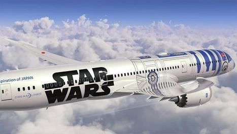ANA va faire voler un Boeing 787 aux couleurs de « Star Wars » | CRAKKS | Scoop.it