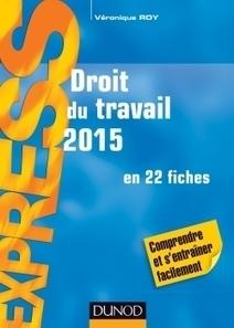 Droit du travail 2015 | Sélection de nouveaux livres | Scoop.it