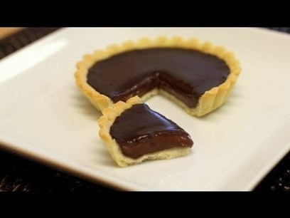 Chocolate Tart Recipe: Valentine's Day Special | Sweet Recipes | Scoop.it