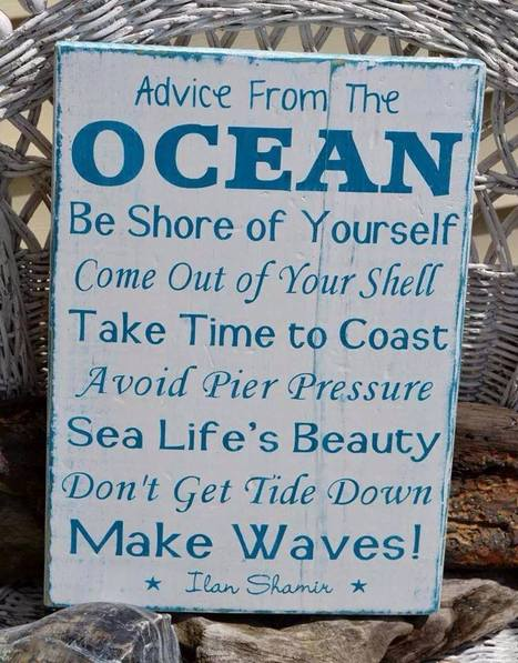Ocean Sign--says it all | All about water, the oceans, environmental issues | Scoop.it
