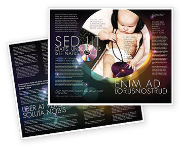 Hi-Tech Baby Brochure Template | Brochure Templates | Scoop.it