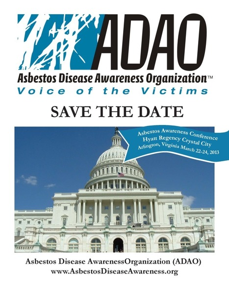 "9th Annual International Asbestos Awareness Conference: ""The Asbestos Crisis: New Trends in Prevention and Treatment"" 