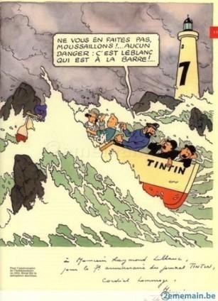 Tintin et la mer : représenter l'espace maritime dans la bande dessinée (Sciences Dessinées) | BD et histoire | Scoop.it