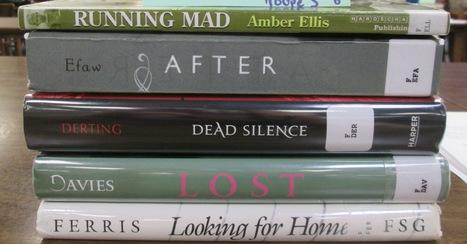 Book Spine Poetry | Bradwell Institute Media | Scoop.it