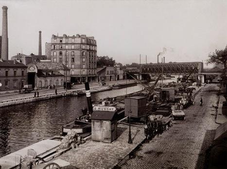 Canal Square: Le quai de la Marne vu par Charles Lansiaux | Paris, son histoire | Scoop.it