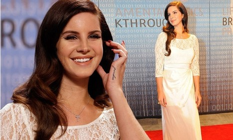 Lana Del Rey-diant! Singer looks serene in white lace gown as she attends ... - Daily Mail | Lana Del Rey - Lizzy Grant | Scoop.it