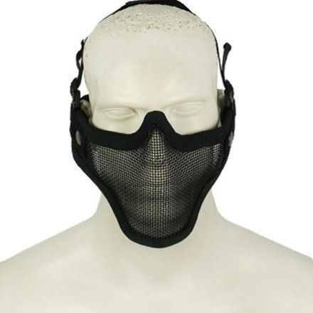 Airsoft Strike Half Face Tactical Military Metal Mesh Mask | Airsoft Paintball Mask | Scoop.it