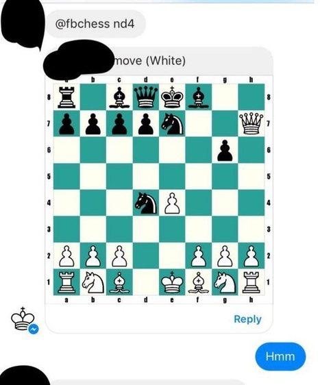 Es posible jugar al ajedrez desde Facebook messenger | Aprendiendoaenseñar | Scoop.it