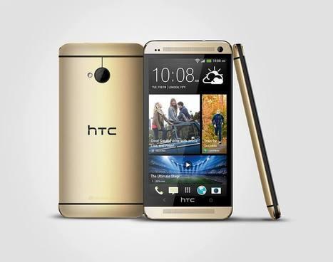 El Gold HTC One, el smartphone exclusivo de HTC | Smartphone libres | Scoop.it