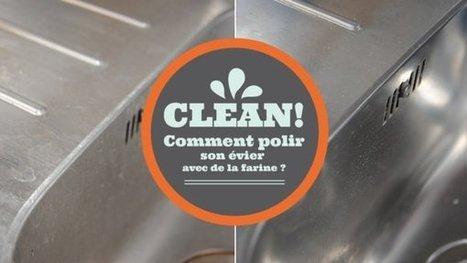 Comment polir un évier en inox avec de la farine ? | On dit quoi ? | Scoop.it