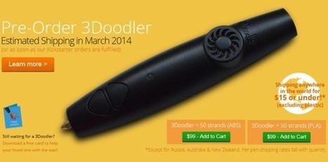 Les nouveautés du stylo d'impression 3D 3Doodler ! | Impression 3D | Scoop.it