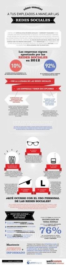 Tus Empleados: Auténticos Expertos en Redes Sociales para Hoteles | Infografías | Scoop.it